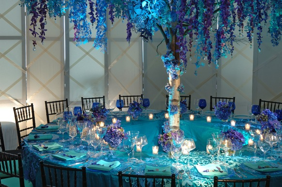 Teal And Purple Wedding Ideas: Inspiration – Preston Bailey