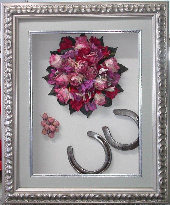 Wedding Vendor Wednesday Framed Flowers And Memorabilia