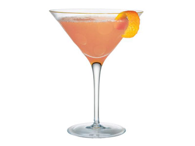 The Blushing Bride cocktail: champagne, peach schnapps, grenadine - cute for a bridal shower or stagette!noticed you were pinning some bridal shower drinks and saw this one, too. The Blushing Bride cocktail: champagne, peach schnapps, grenadine.